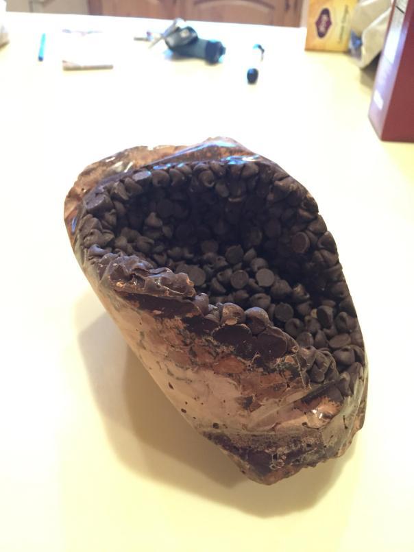 Chocolate Geode