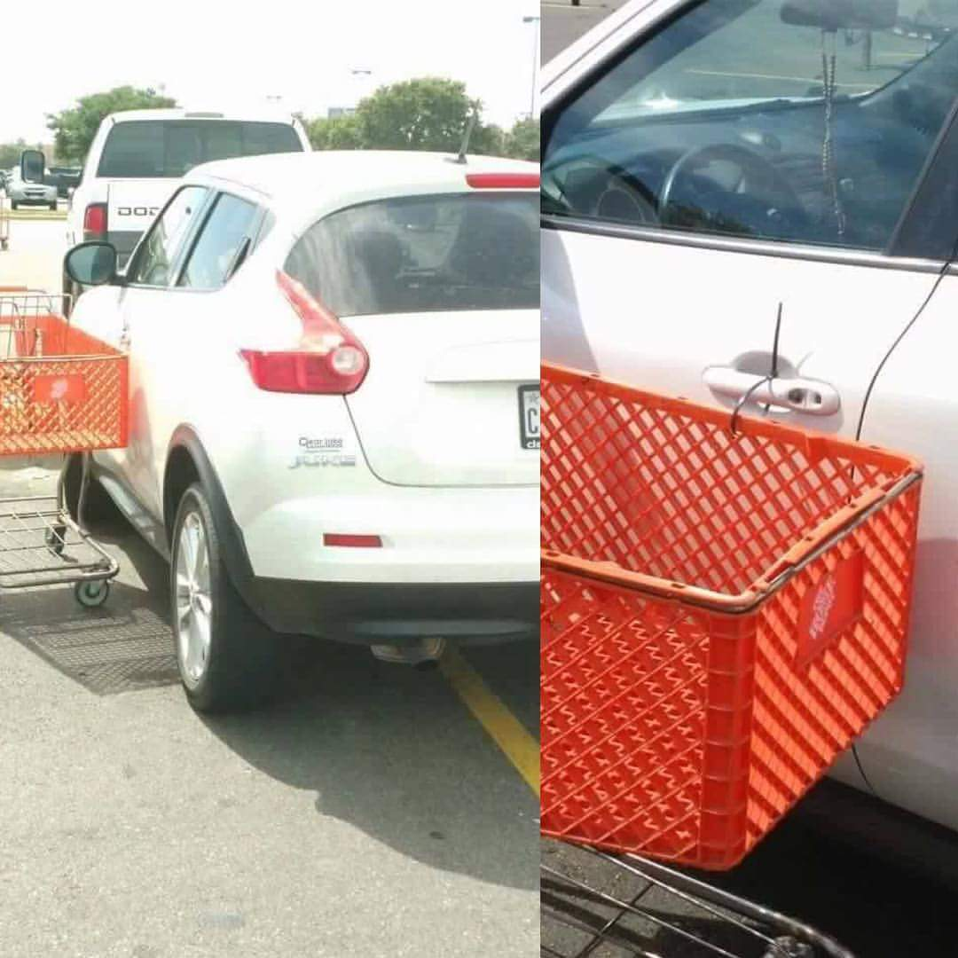 Awesome Zip Tie Justice For Bad Parkers
