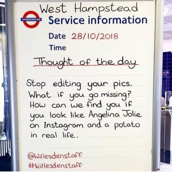 Don't become a lost potato.
