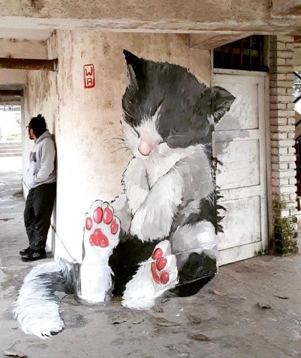 Fur wall